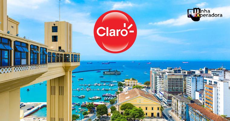 Claro anuncia investimento na Bahia