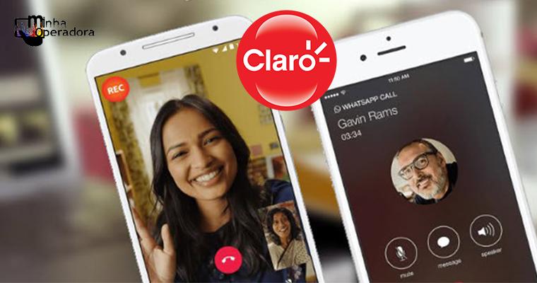 Claro oferece chamadas ilimitadas de vídeo e voz pelo WhatsApp