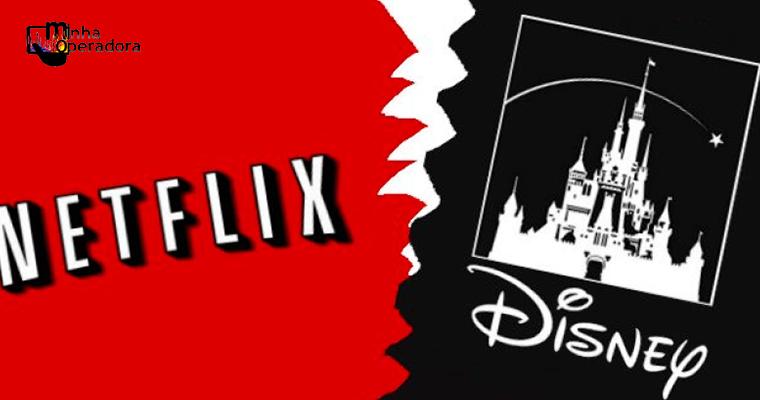 Disney não exibirá mais produções na Netflix