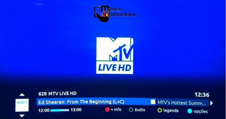 NET lança, com exclusividade, canal MTV Live HD