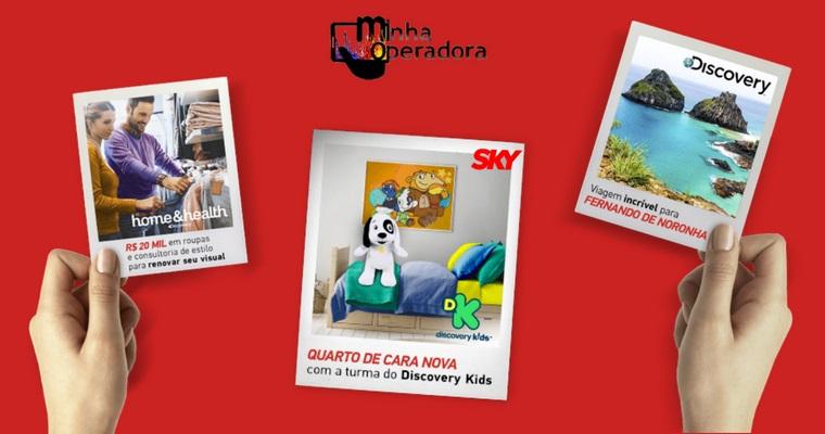 SKY e Discovery premiarão clientes com viagem, roupas e decoração