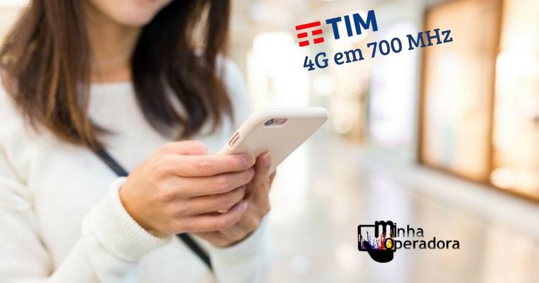 TIM também ativa 4G em 700MHz em Floripa e cobre todas as capitais