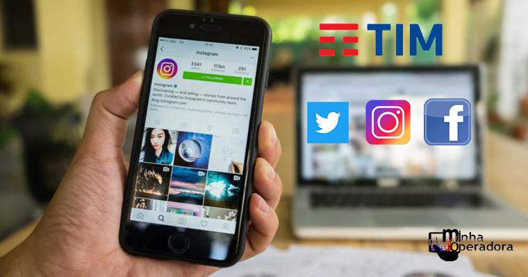 TIM libera navegação ilimitada em apps para clientes pré-pagos