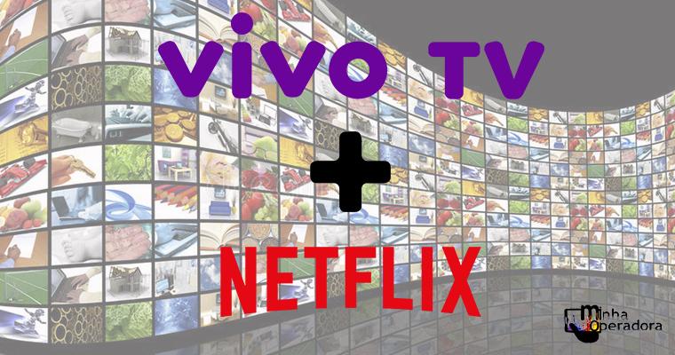 Vivo TV testa canal dedicado à Netflix em sua grade