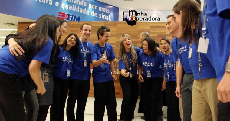TIM abre vagas de consultor, gerente e supervisor em São Paulo