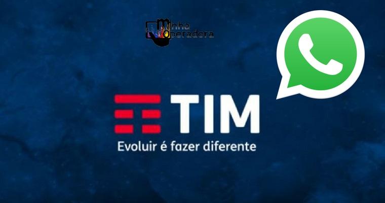 TIM começa a atender clientes pelo WhatsApp