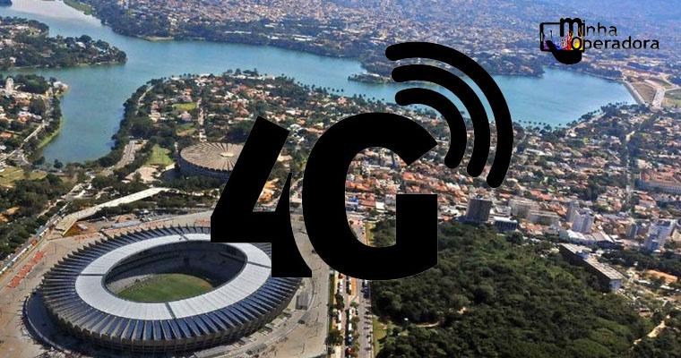 Belo Horizonte é a metrópole com maior disponibilidade de 4G