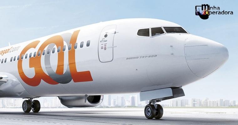 TIM dá 30% de desconto no acesso à internet em voos da Gol