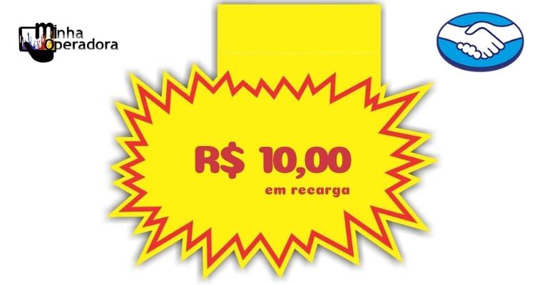 Recarga de R$ 10 no pré hoje sai de graça pelo Mercado Pago