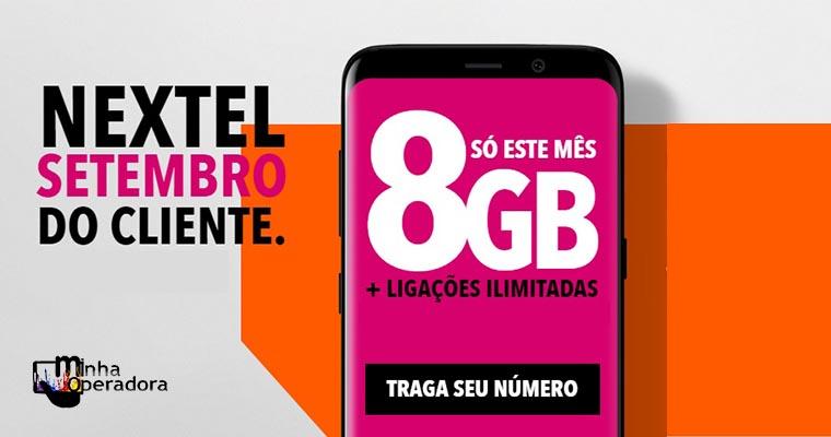 Nextel lança plano com 20GB por R$ 139,99 na portabilidade