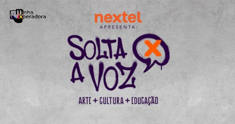 Nextel patrocina evento de arte, educação e música