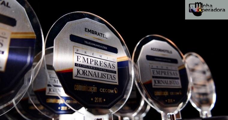 Vivo, TIM e Embratel ganham prêmio por comunicação com jornalistas