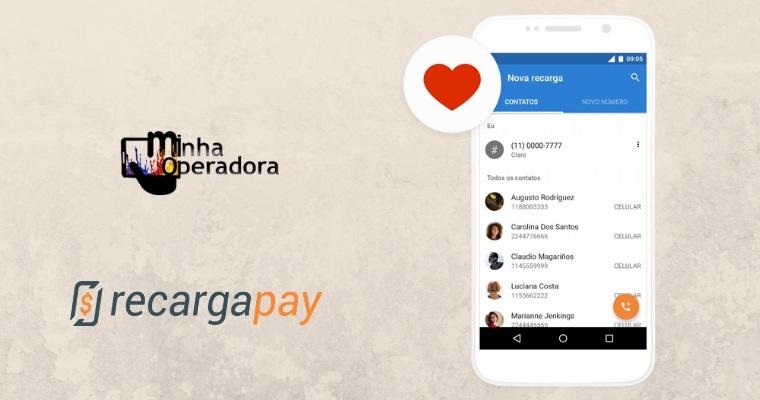 RecargaPay oferece até R$ 20 em contas e recarga de celular