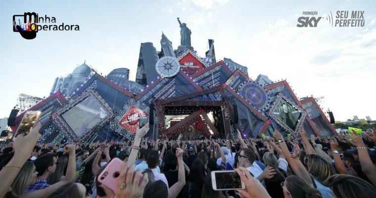 SKY sorteará 60 pares de ingressos para o VillaMix Festival