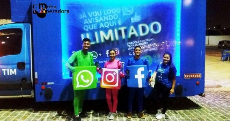 TIM explora jingle em ações do TIM Controle pelas ruas do Recife