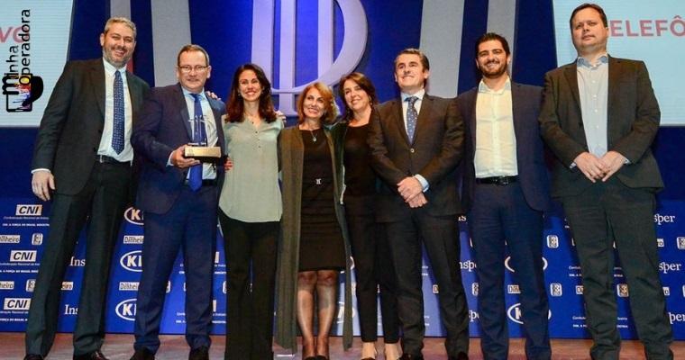 Vivo é considerada a melhor em telecom em dois novos prêmios