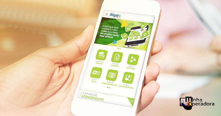 Algar atualiza app e inclui suporte a banda larga digital