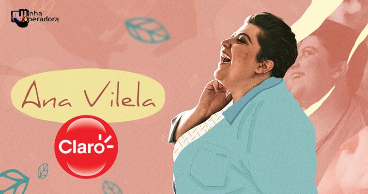 Ana Vilela faz pocket show em loja da Claro no Rio