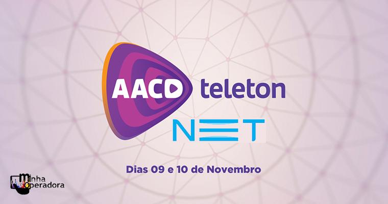 Clientes NET poderão doar para o Teleton pelo controle remoto