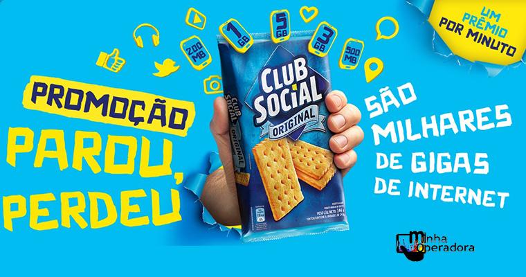 Club Social dá pacote de dados para os consumidores