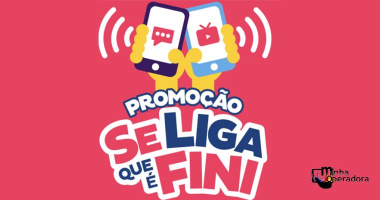 Promoção da Fini concede crédito em celular