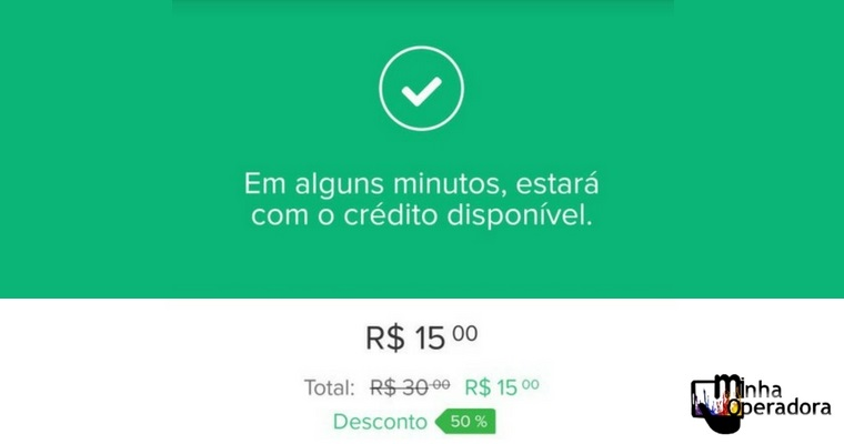 Mercado Pago oferece 50% de desconto em recargas