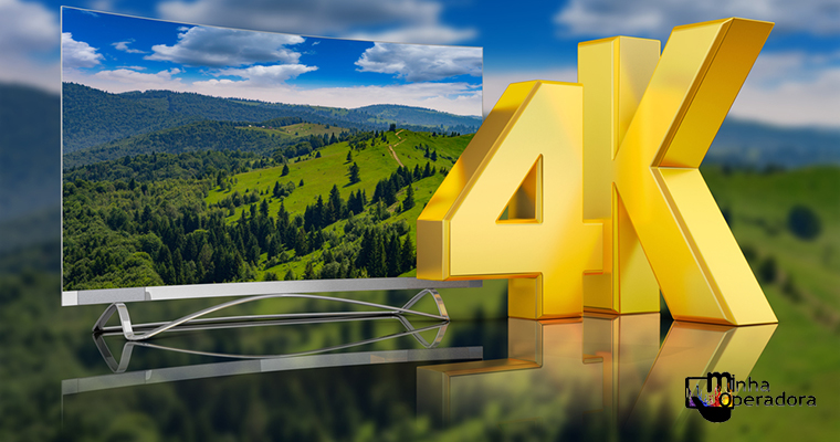 NET lança pacotes exclusivos 4K