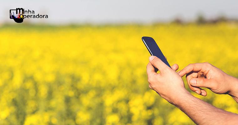 Projeto de lei prevê uso do Fust para ampliar banda larga no campo