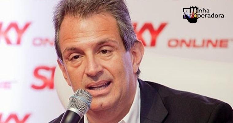 Presidente da SKY anuncia saída da companhia
