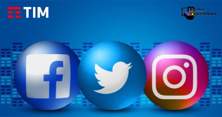 TIM está liberando 30 dias de redes sociais nas recargas de R$ 30