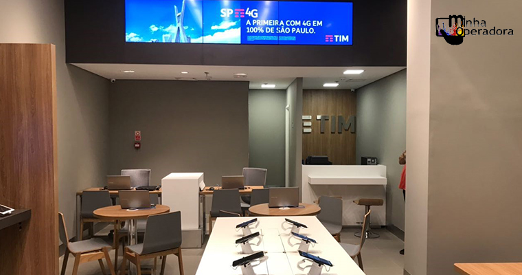 TIM inaugura loja digital em Presidente Prudente