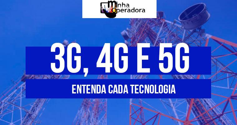 3G, 4G e 5G: entenda cada uma das tecnologias