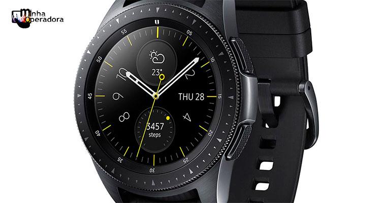 Samsung se alia a Vivo e lança Galaxy Watch com 4G no Brasil