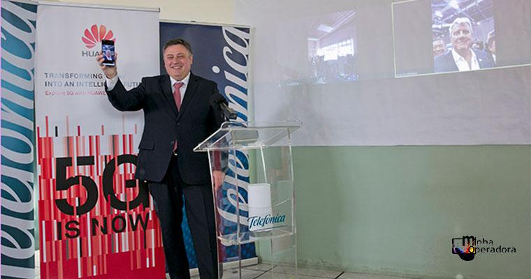 Primeira videochamada 5G entre dois países foi realizada