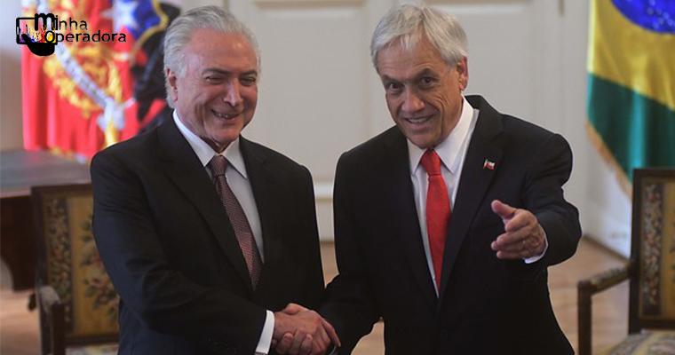 Acordo entre Brasil e Chile acaba com roaming entre os dois países