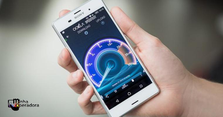 Média de velocidade da rede 4G no Brasil é maior que a do WiFi
