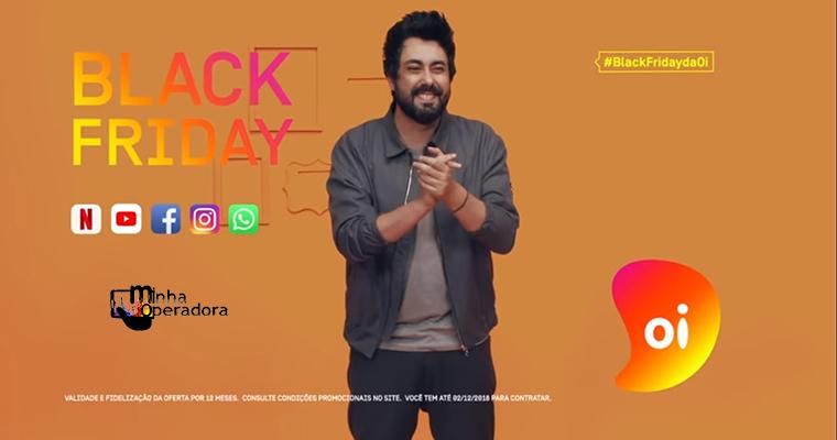 Oi patrocina hashtag e lança vídeo sobre oferta de Black Friday