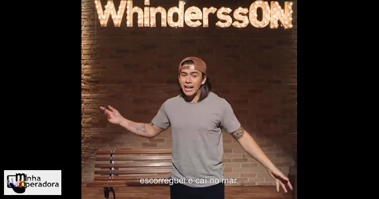 Oi promove #SejaOn no Twitter para divulgar live de Whindersson