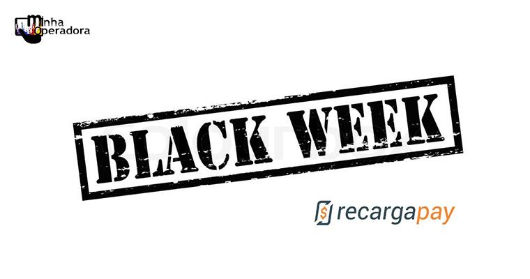 RecargaPay dá créditos grátis na Black Week