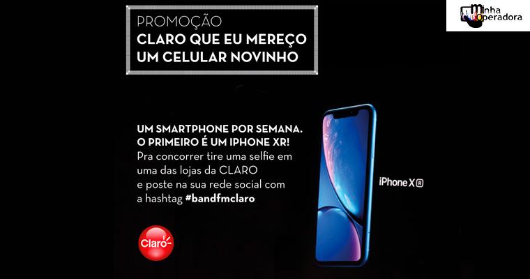 Sorteio de smartphones: Claro e Band FM lançam nova promoção
