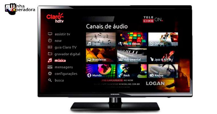 Claro TV: 19 novos canais recebem legenda eletrônica