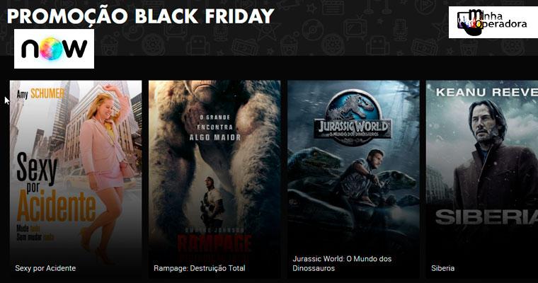 Black Friday: desconto em 60 filmes no NOW