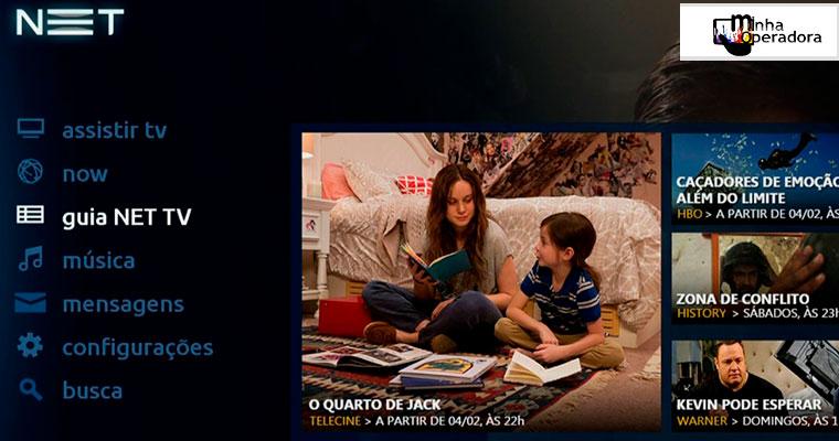 Black Friday: NET HDTV com 50% de desconto no combo