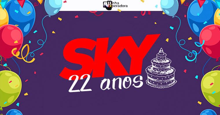 SKY completa 22 anos; relembre os marcos da companhia