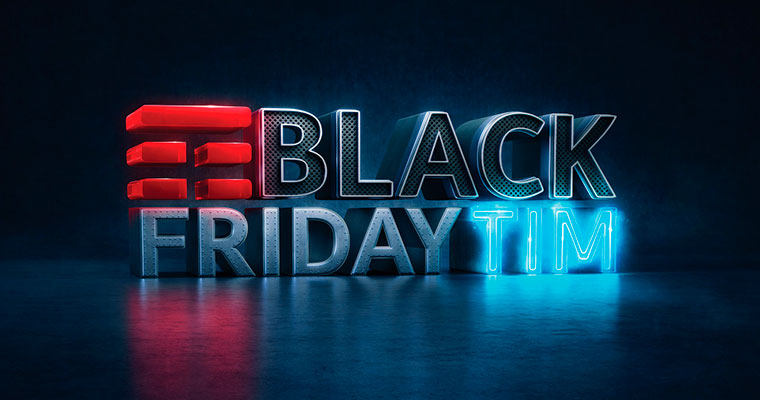 Vendas da TIM crescem 80% na Black Friday