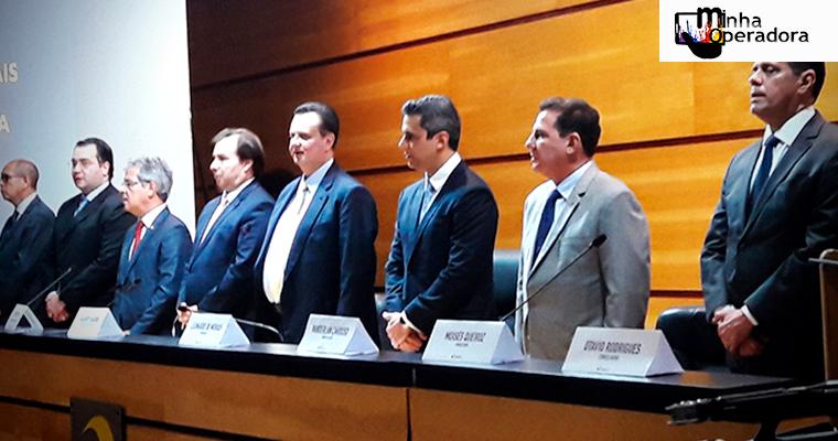 Anatel: novo presidente e conselheiro tomam posse