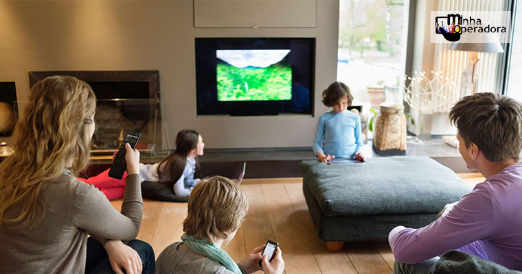 Cai a presença da TV nos lares brasileiros