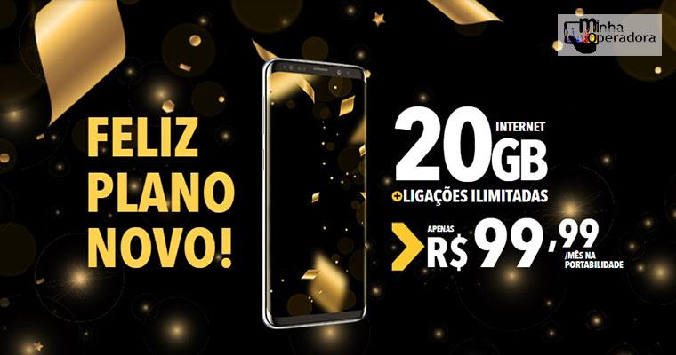 Nextel oferta 20GB por R$ 99,99 em promoção de Ano Novo