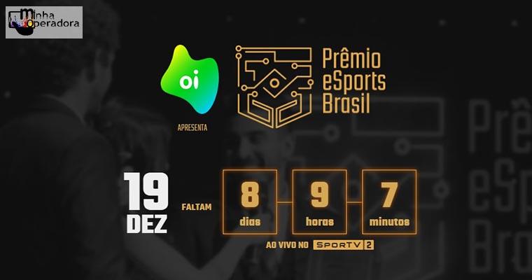 Oi irá patrocinar segunda edição do Prêmio eSports Brasil