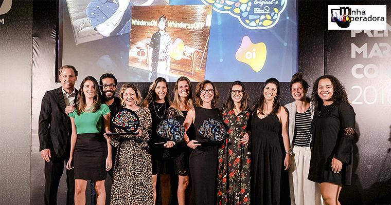 Oi leva três troféus no 'Prêmio Marketing Contemporâneo 2018'